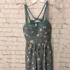 Floral Midi Dress Size Small